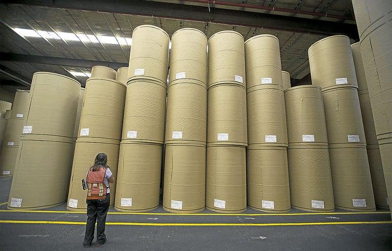 Consumo per cápita de papel es de 28 toneladas