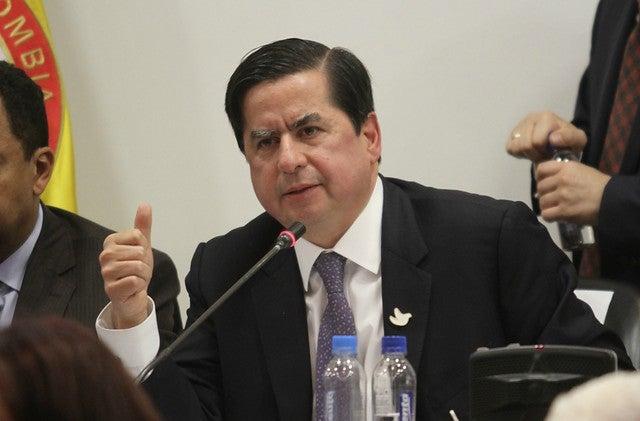 Ministro Del Interior Actual Of Renunci El Ministro Del Interior Juan Fernando Cristo