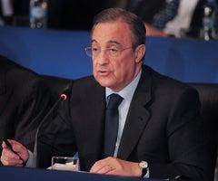 El reconocido empresario, Florentino Pérez, presidente del Real Madrid, también lidera a la compañía ACS. Foto: Bloomberg