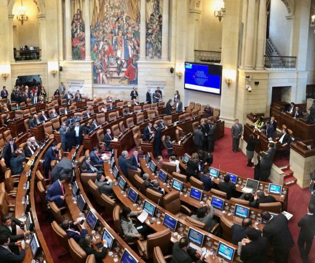 Así quedó la nueva distribución del Congreso de la República
