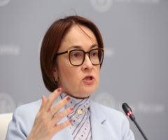 Elvira Nabiullina, directora del Banco Central de Rusia.