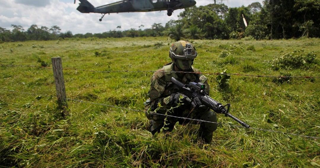 Anonymous tumbó página del Ejército colombiano y modificó su descripción en Wikipedia