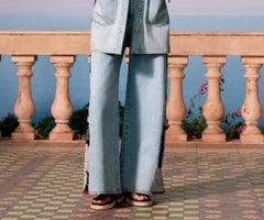 Volvio La Tendencia De Los Pantalones Amplios En Las Casas De Moda Para El Verano