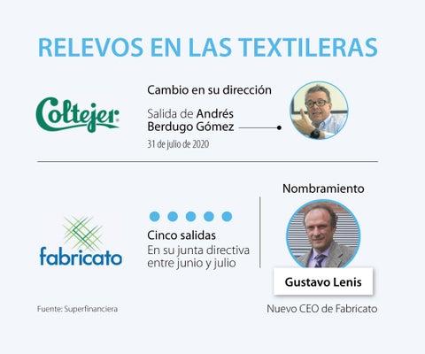 En medio de crisis textilera Coltejer está sin cabeza y Gustavo Lenis llega a Fabricato