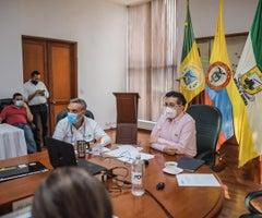 Ministro de Salud, Fernando Ruiz, en Quindío