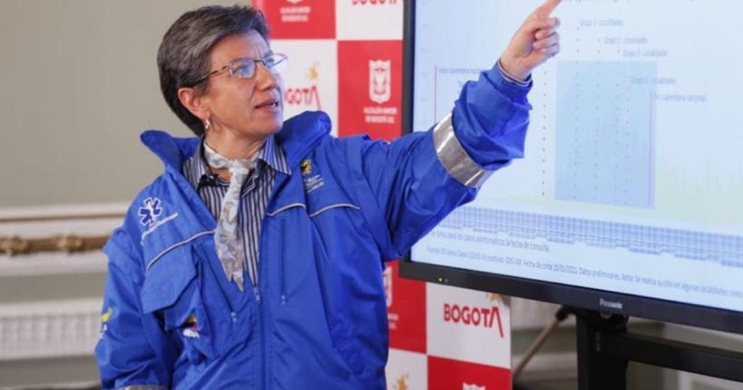 Bogotá implementará toque de queda nocturno a partir de las 8 p.m. desde el martes