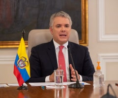 Presidente Duque advirtió que no aceptará que vías de hecho frenen la  recuperación